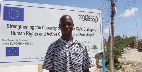 Edward, from Uganda, is an Integrated Prevention Treatment Care and