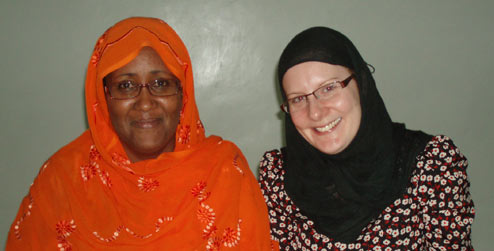 Suad Abdi and Isabel Gammie