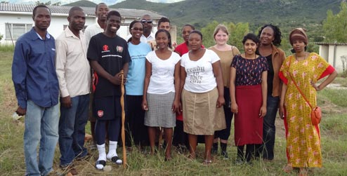 CAAF team in Honde valley