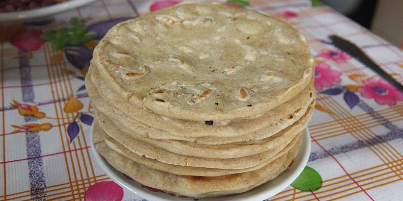 Famous Honduran tortillas. Photo by Noel Specowius