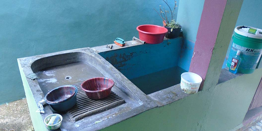 Pila: water source and centre of the house