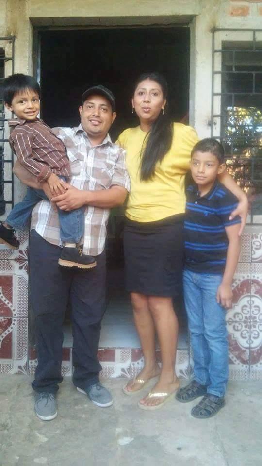 Callum & Vitor's family! (Left to right) Fernando, Enrique, Rosa & Enrique Junior