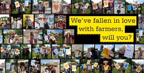 fall for farmers photo petition
