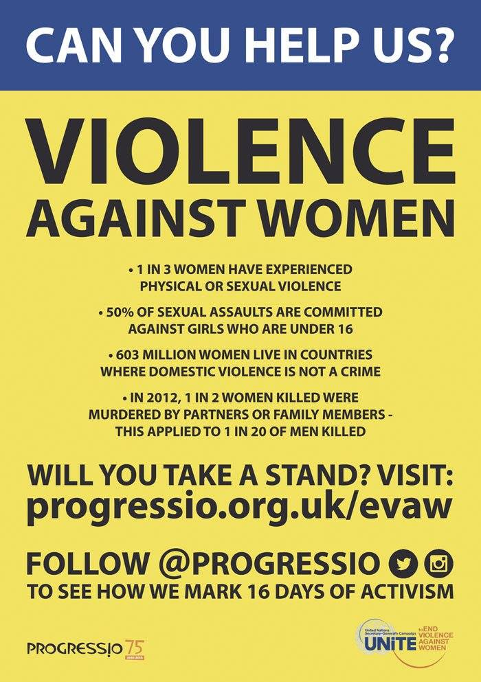 Elimination of Violence Against Women Poster