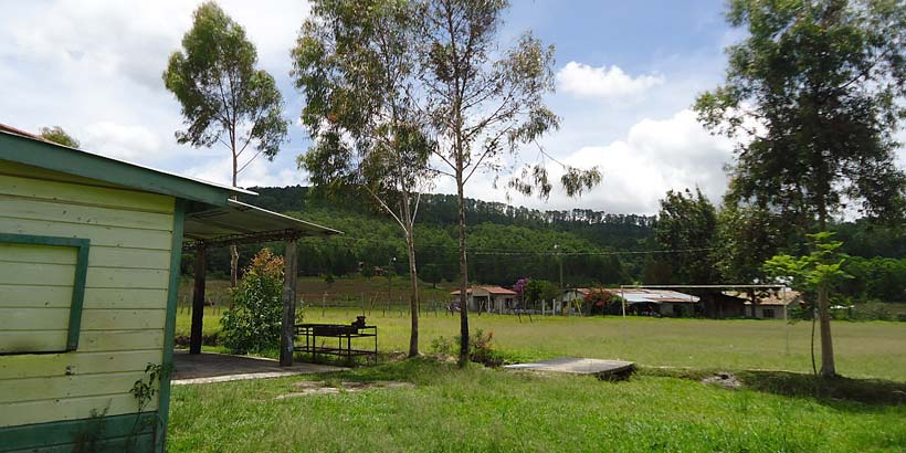 In the town of La Esperanza
