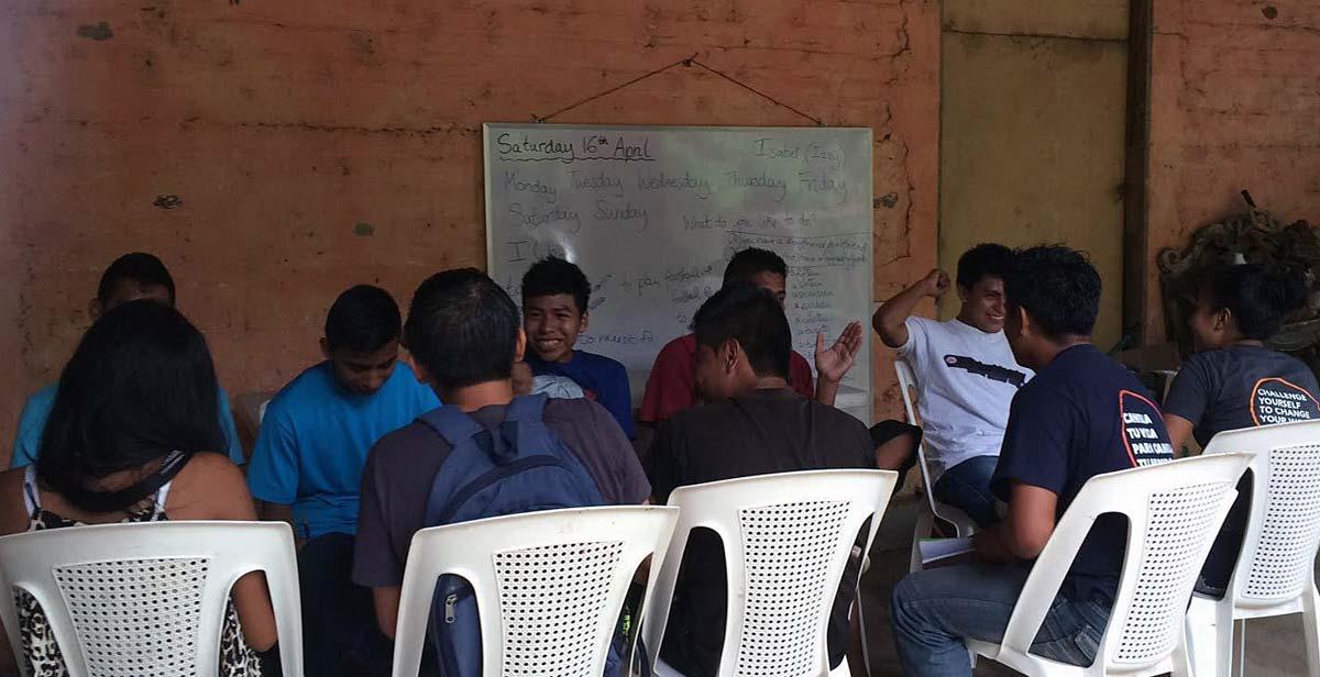 An English class