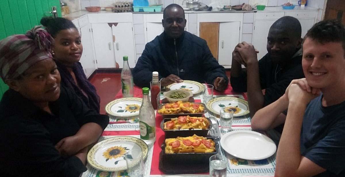 Joseph with the Msiskia family