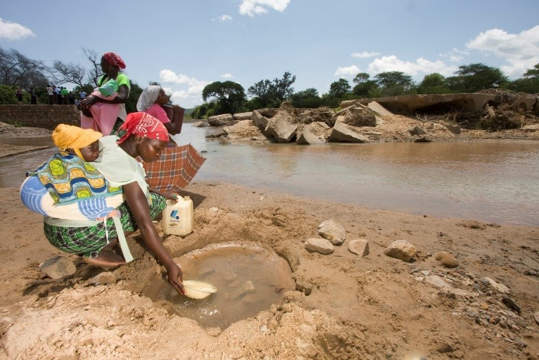 Poor access to water is not only a health risk, but also affects small farmer's produce