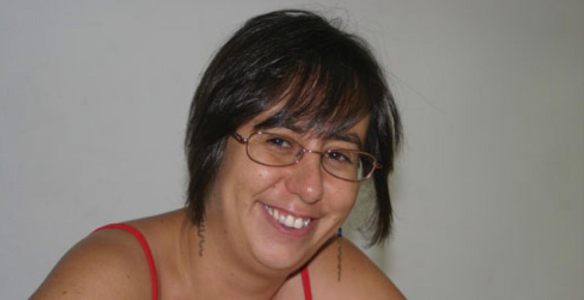 Cooperante Ainara Garcia