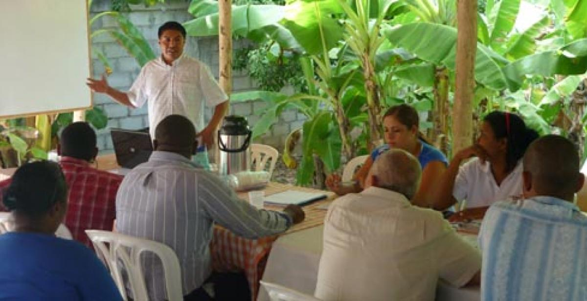 Development Worker Bolivar Sanchez Lopez