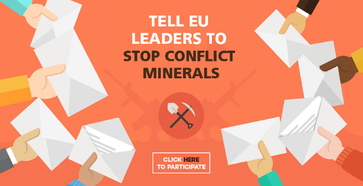Tell EU leaders to stop conflict minerals