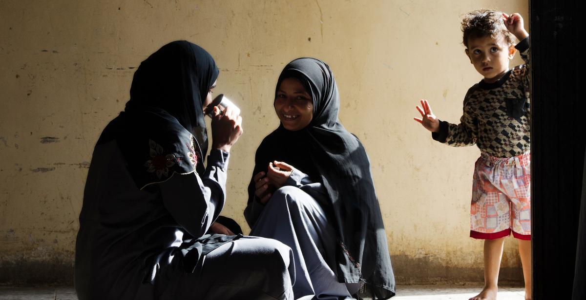 Hodeidah prison, Yemen, 2014. Photo: Amira Al-Sharif/Progressio