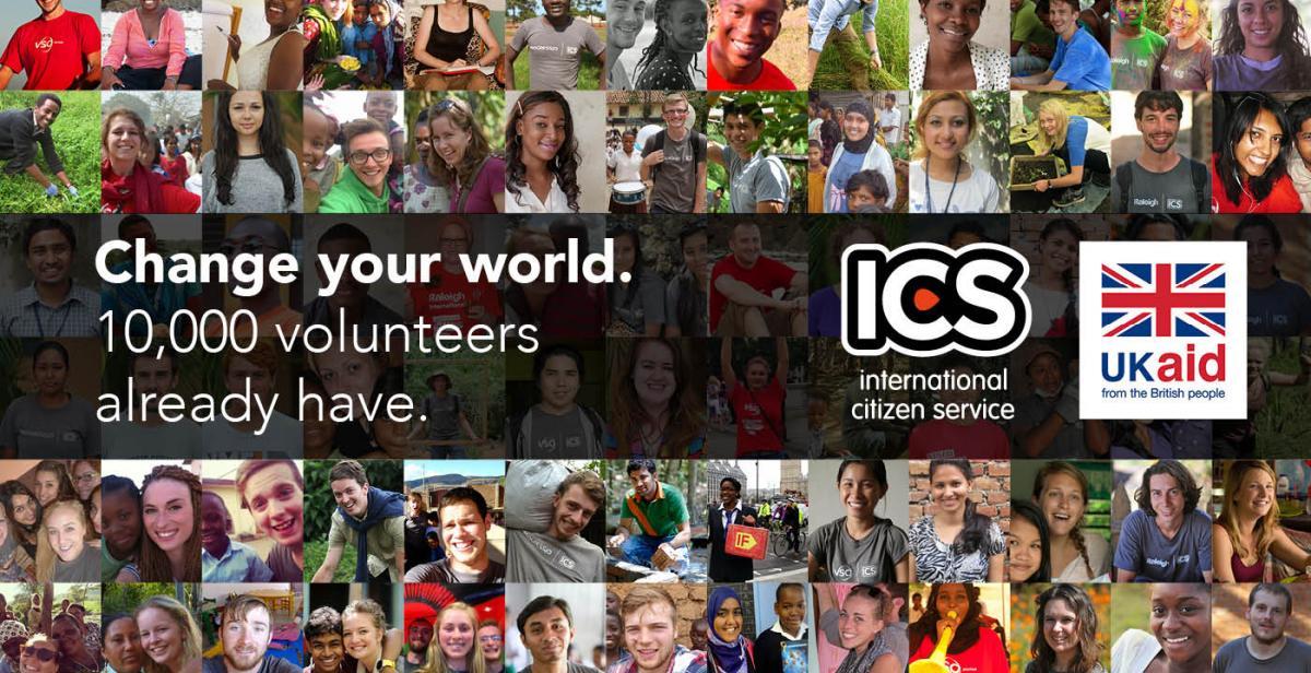 10,000 volunteers