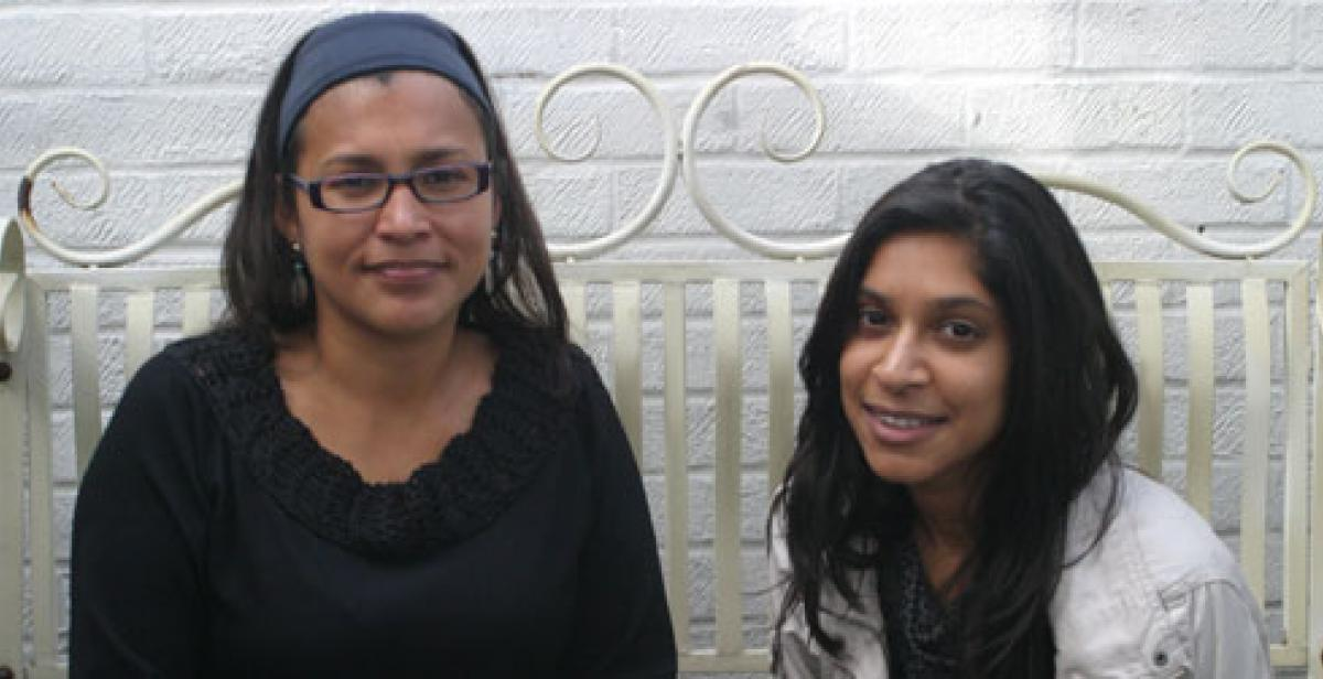 Lizzette Robleto, Policy and Advocacy Officer for Latin America and the Caribbean and Shaheen Saib, Policy and Advocacy Volunteer