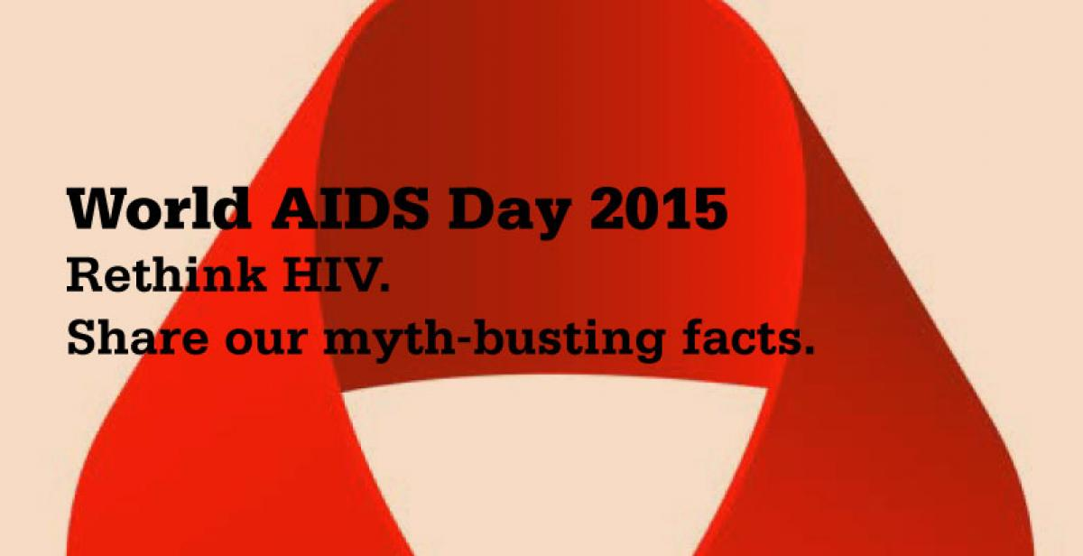 Don't be negative about being HIV positive