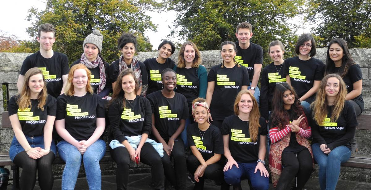 Progressio Empower volunteers enjoy a training weekend in York.