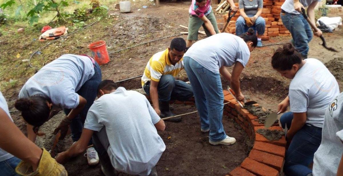 Constructing water piles