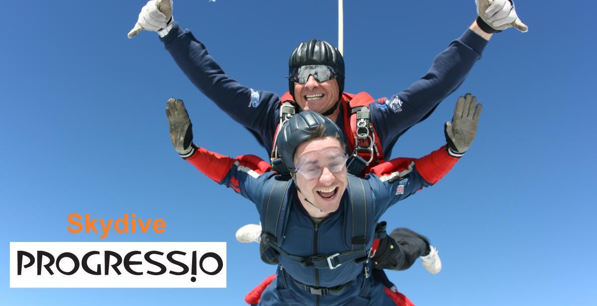 Skydive for Progressio