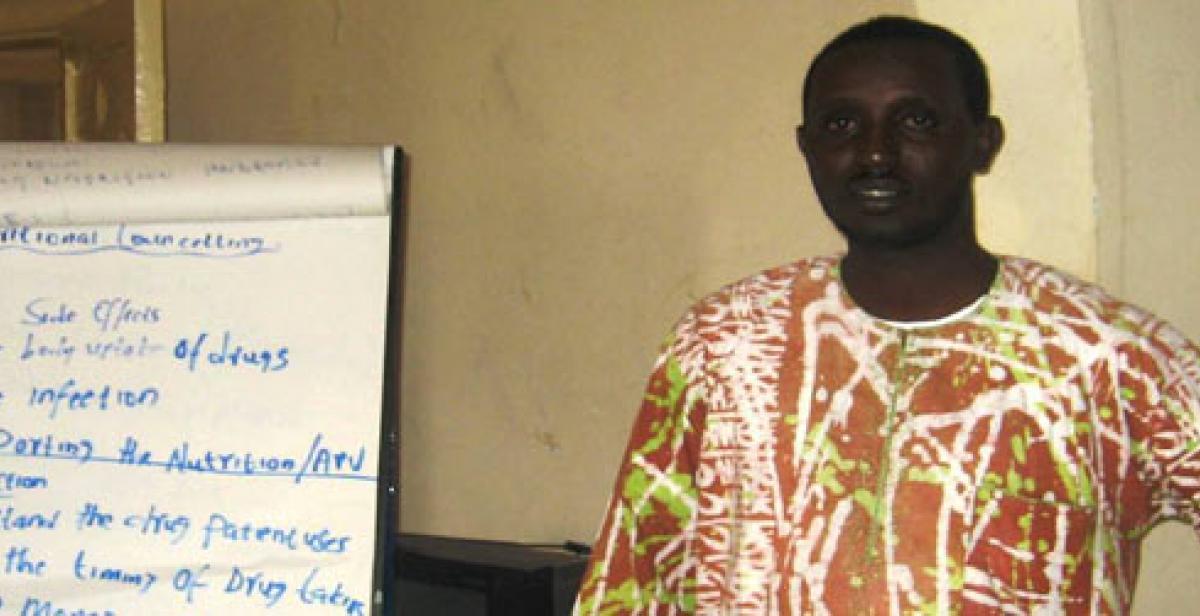 Development worker Ali Abdulahi Abdi