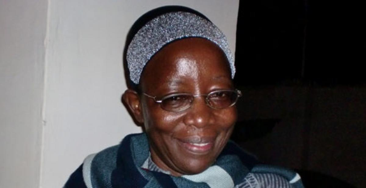 Development worker Cissy Nalusiba