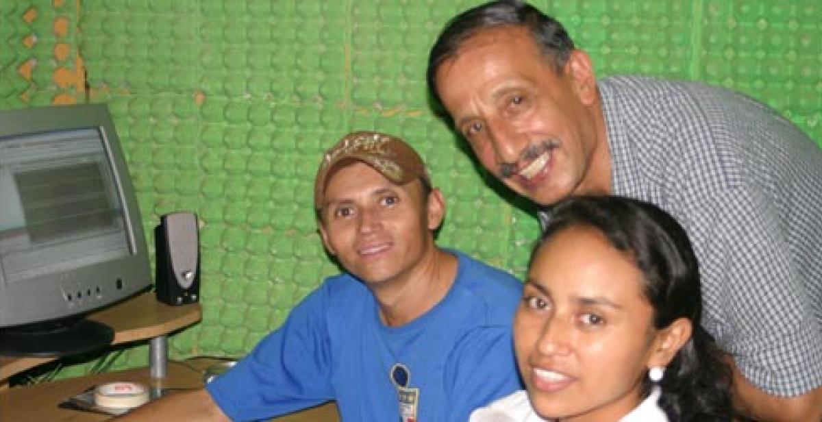 Development worker Galo Muñoz