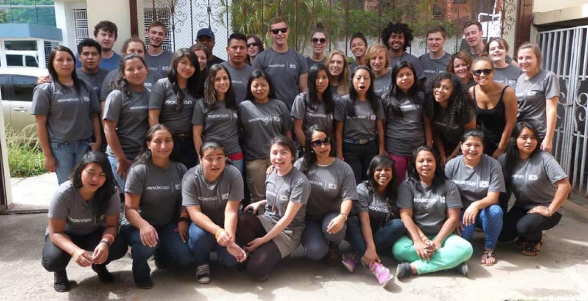 ICS volunteers in Honduras