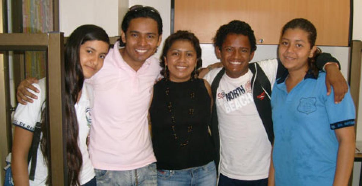Development worker Leticia Carrillo