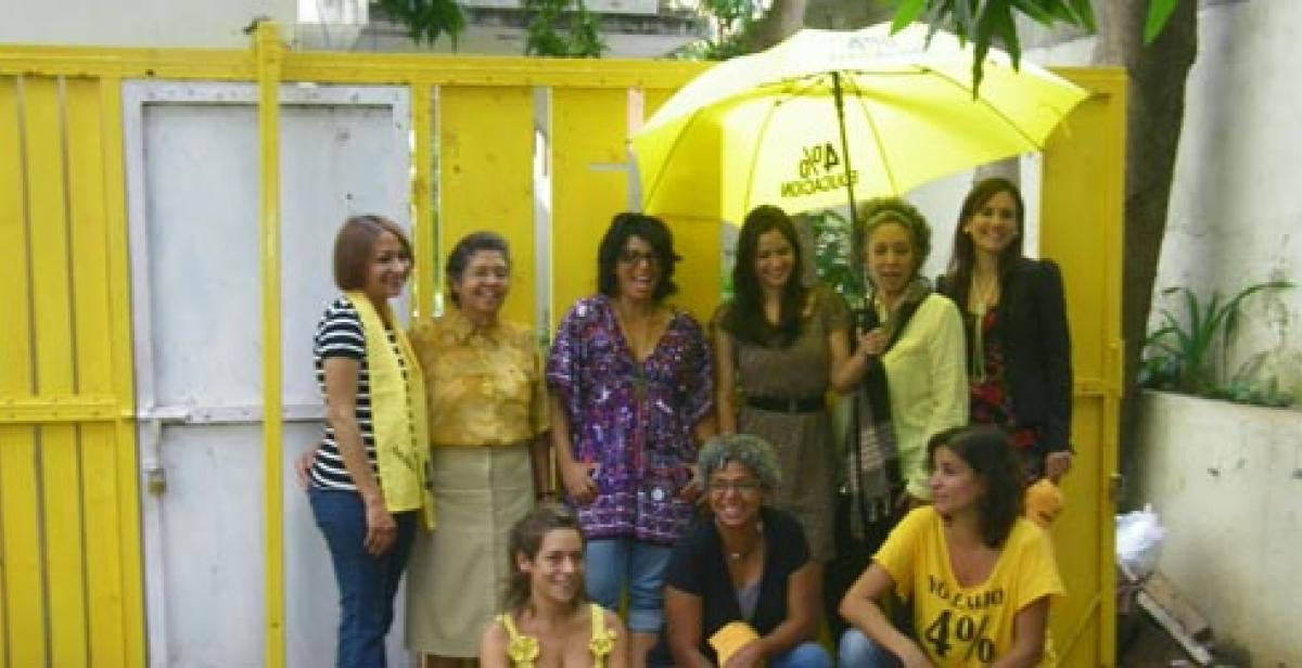 Development worker Mariana Barrenese