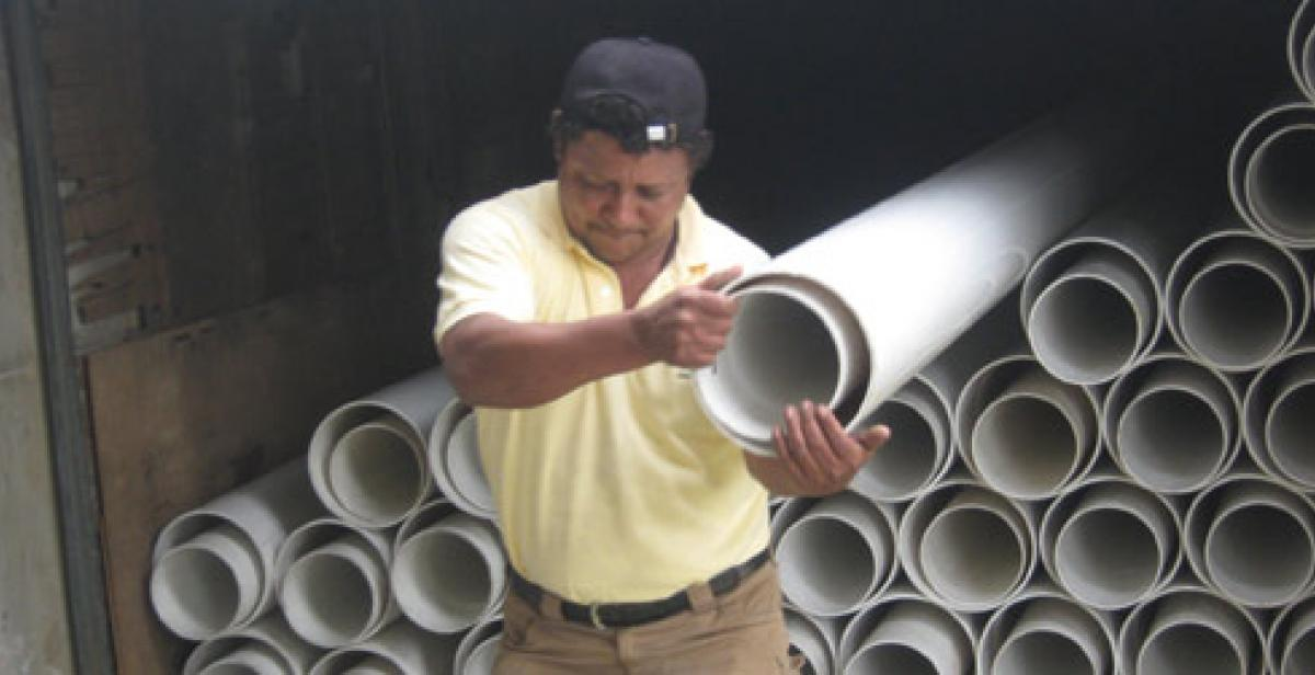 Development worker Marvin Zavala