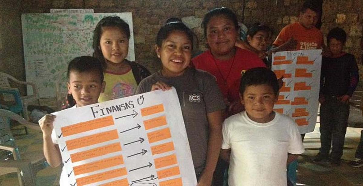 Finance workshop in Yamaranguila