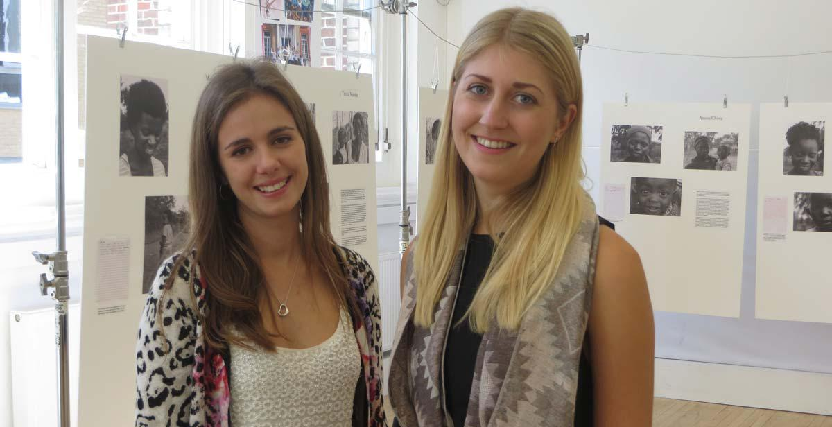 ICS Alumni Eloise Craven-Todd and Anna Jarrett Rawlence held a photo exhibition in July 2016, in London, to raise awareness on child marriage in Malawi
