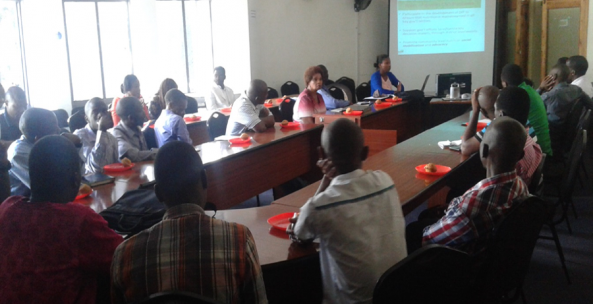 Mobilizing CSO's to form a district CSO's Nutrition platform in Blantyre, Malawi