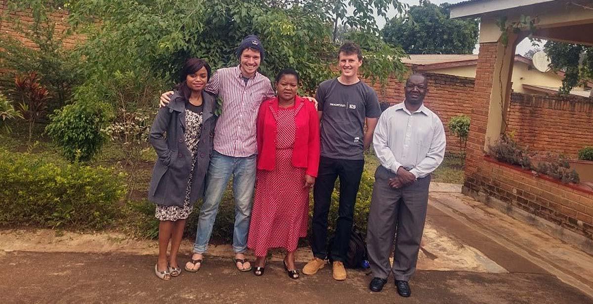 Msiskia family, Pete (left) & Joseph (right)