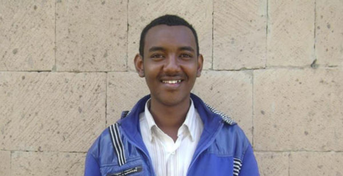 Afi, a Somali refugee living in Yemen