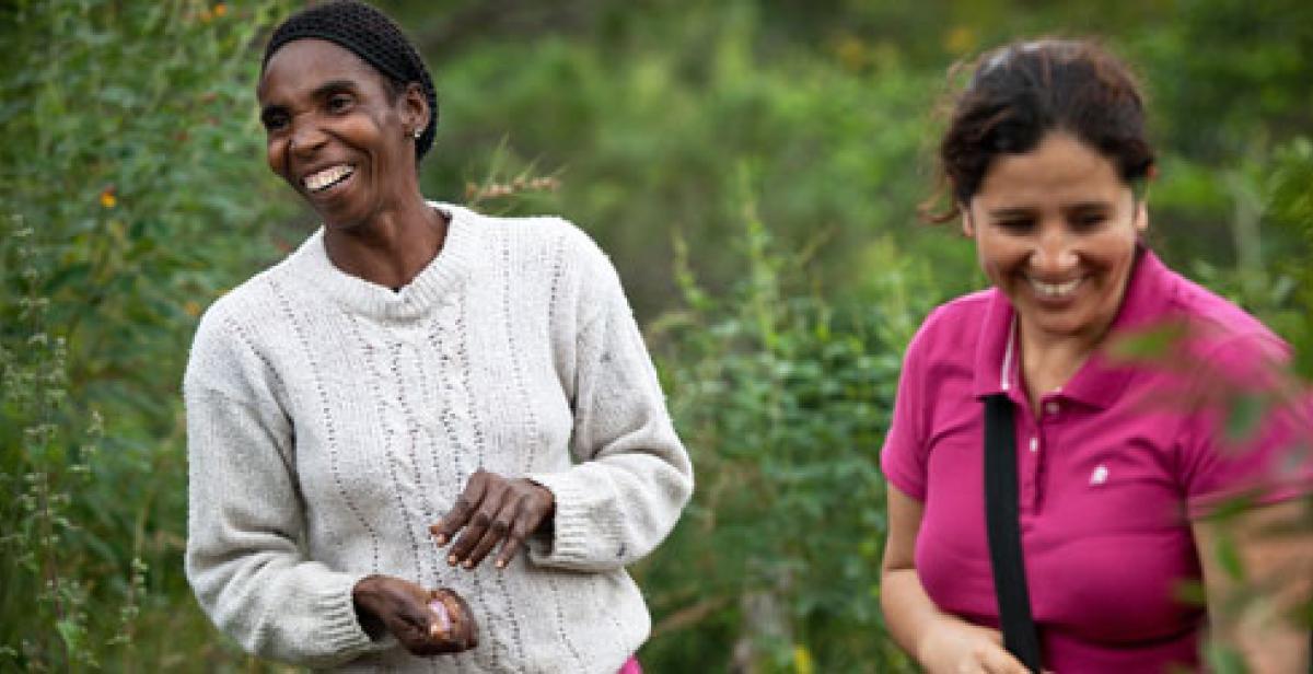 Elena Tusen and Karina Cuba