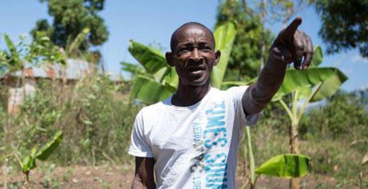 Elismar in Northern Haiti