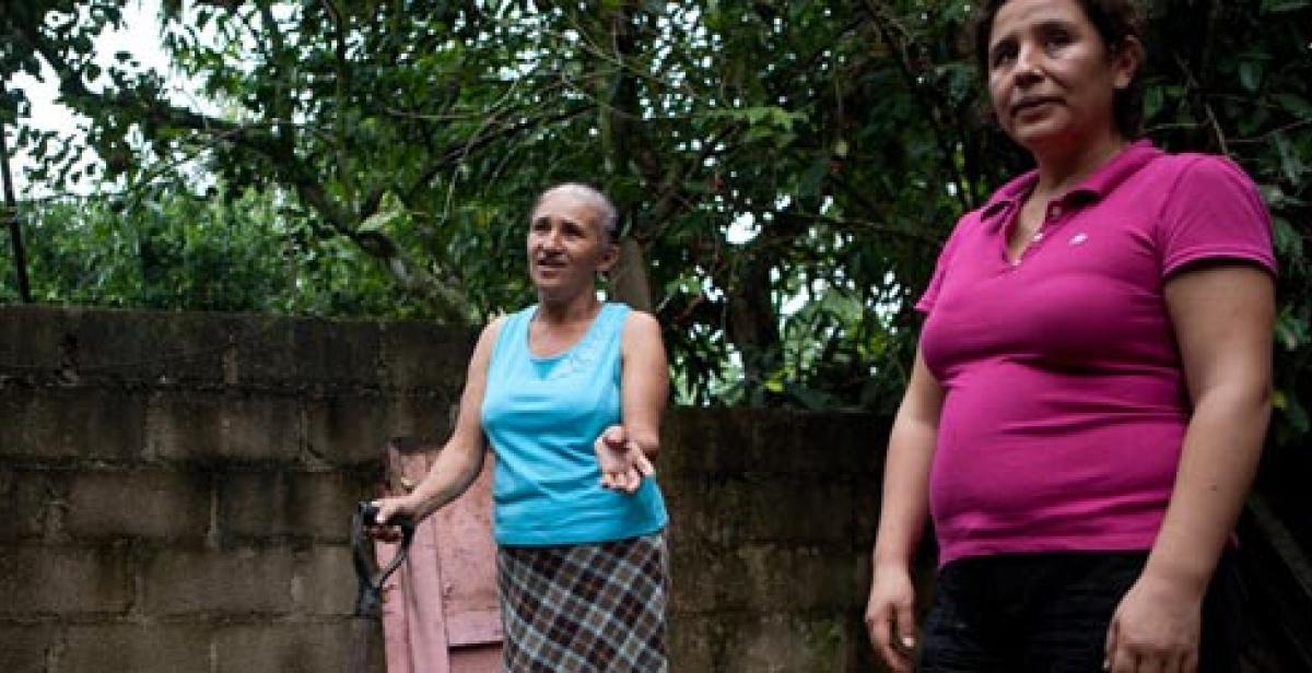Milagros Gomez and Karina Cuba