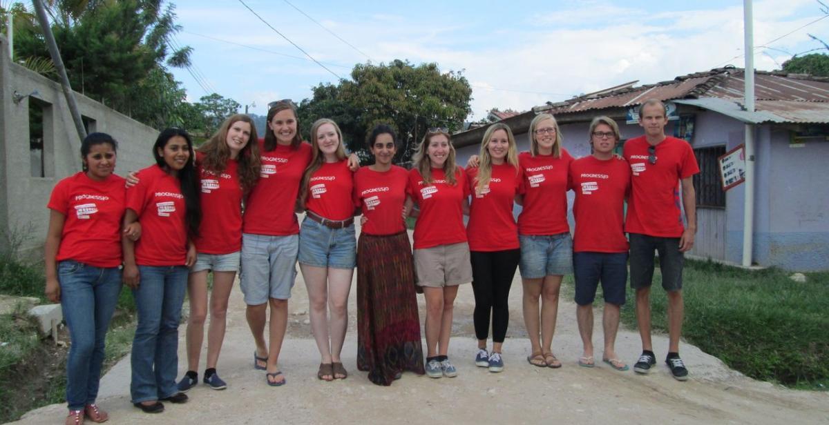 Honduras volunteers