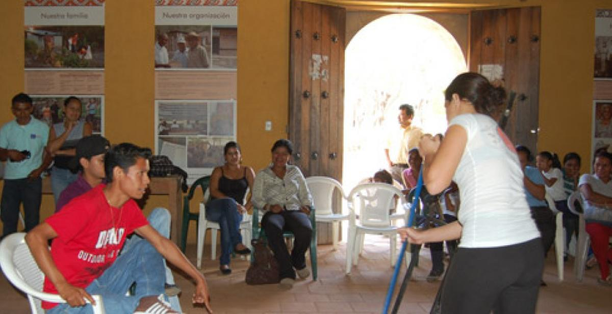 In-country volunteer, Progressio ICS Nicaragua, youth workshop, Gender
