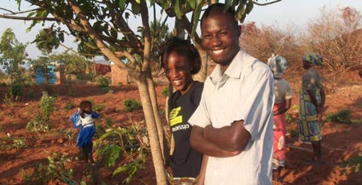 Malawian Progressio ICS volunteers