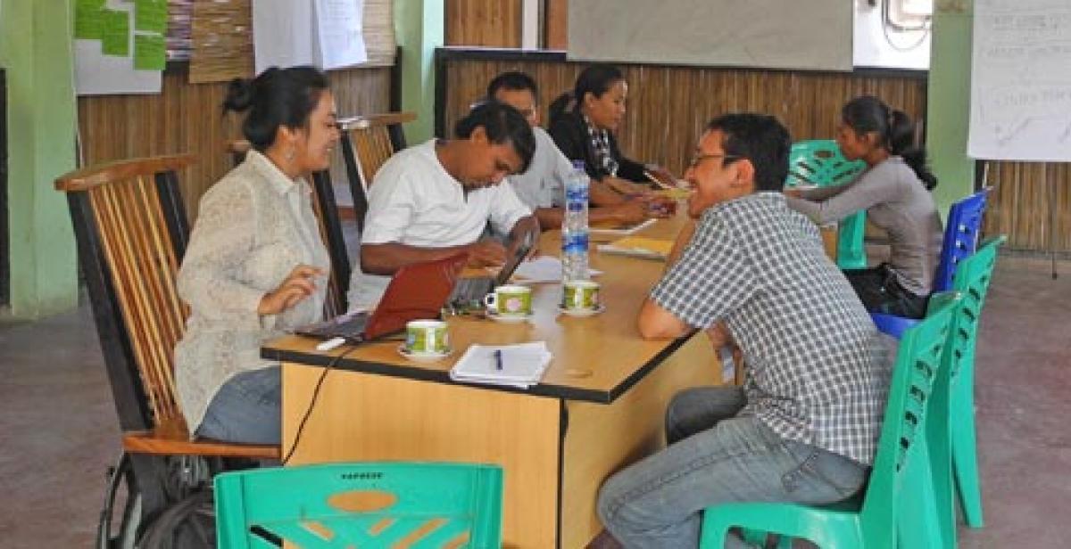 Training session in Timor-Leste