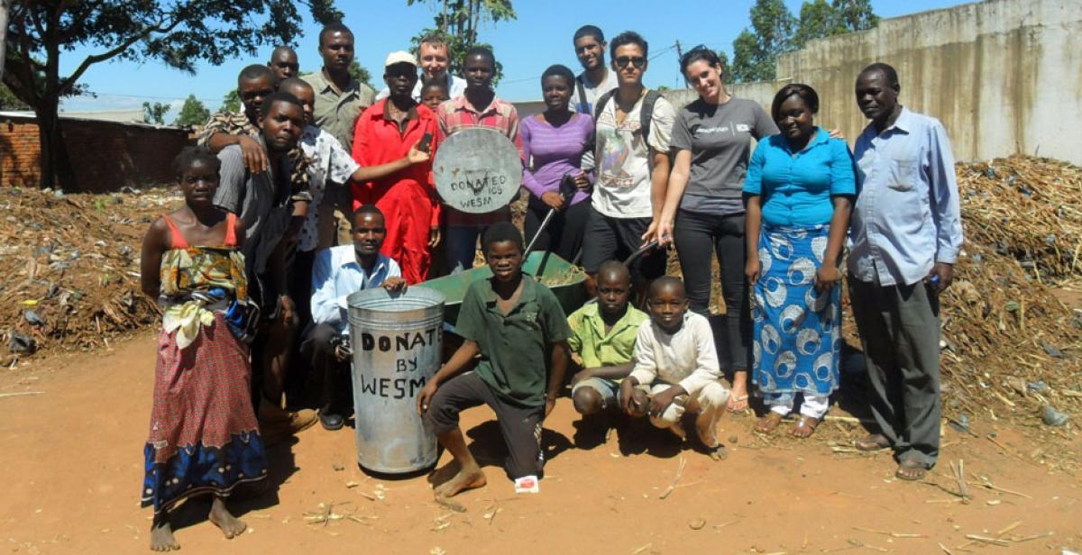 Team Sapitwa at Chinakanaka market
