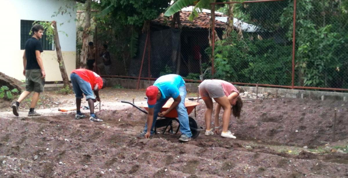 Progressio ICS volunteers in Nicaragua