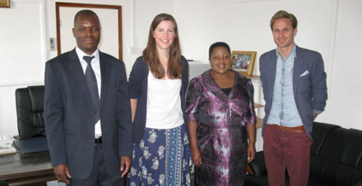 Progressio people meet Edith Mkawa