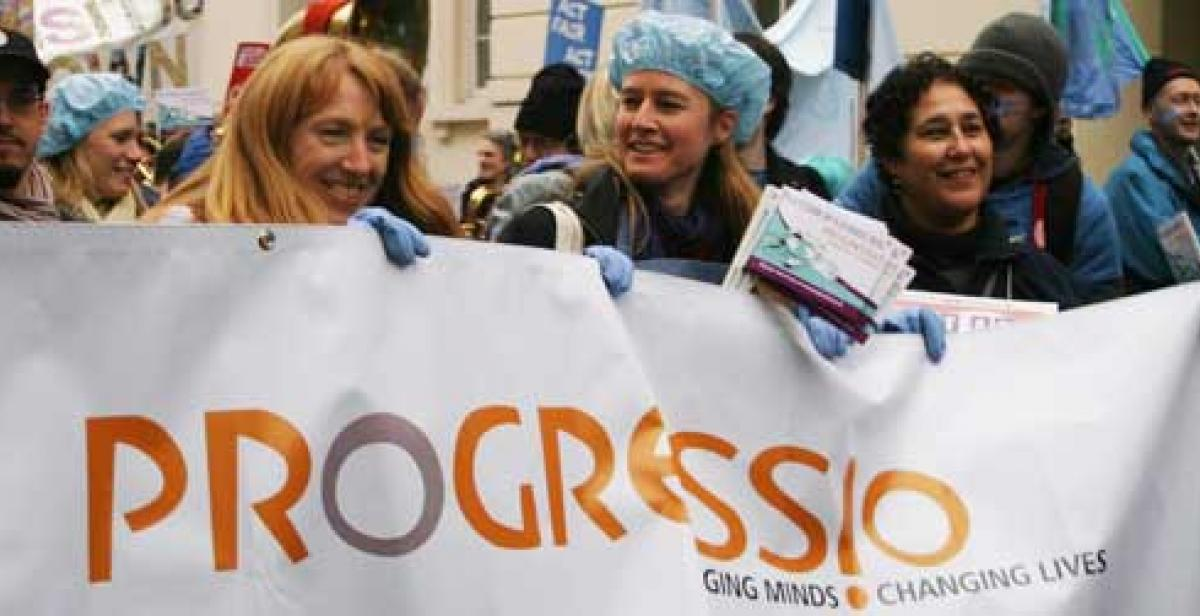 Progressio supporters take action ahead of the Copenhagen climate talks