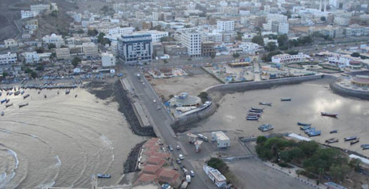 Aden (Crater  area) and fishing market (© Prachanda Man Shrestha)