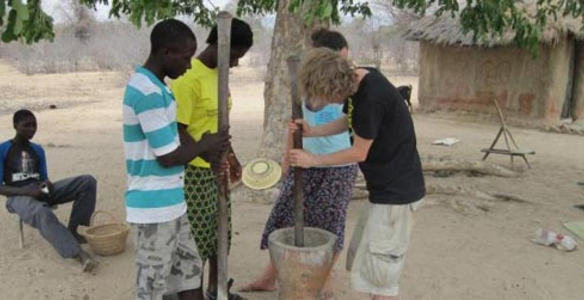Progressio ICS volunteer Dan in Zimbabwe