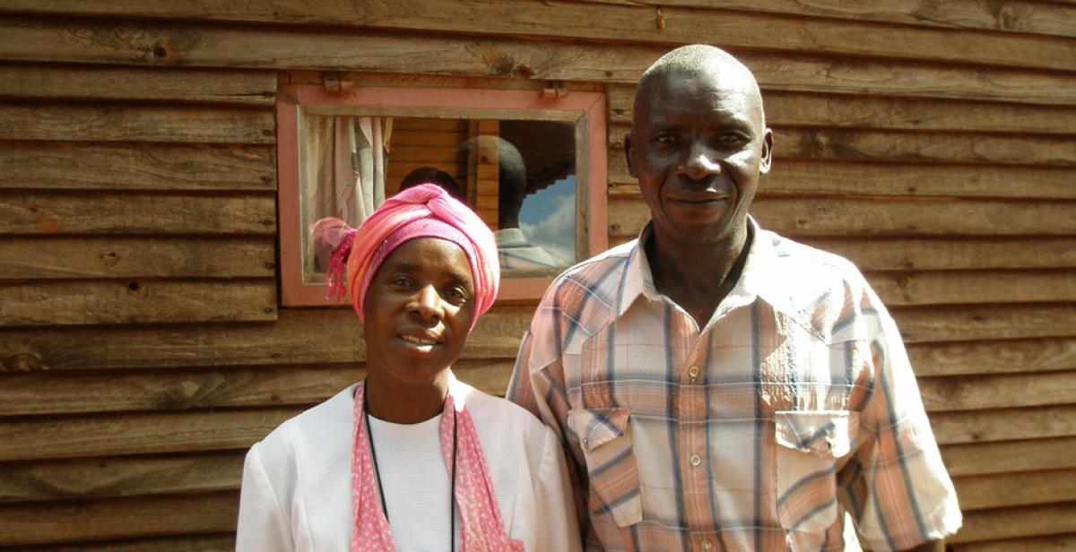 Veronica and Gibson, a couple living with HIV in Hatcliffe community, Zimbabwe