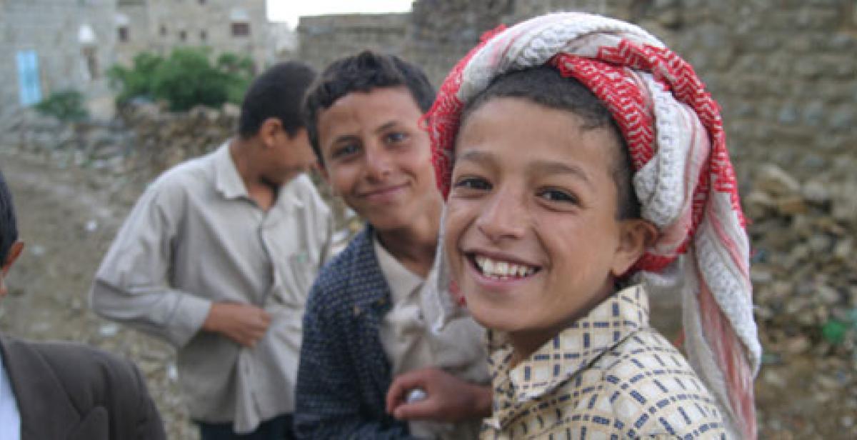Boys in Yemen (©Nick Sireau/Progressio)