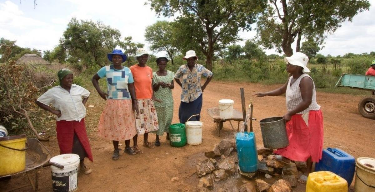 Women lobbied local leaders who repaired boreholes bringing vital water closer to small farmers